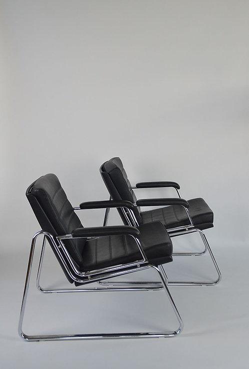 2 Zeldzame lounge zetels door Gerd Lange voor Drabert, 1978