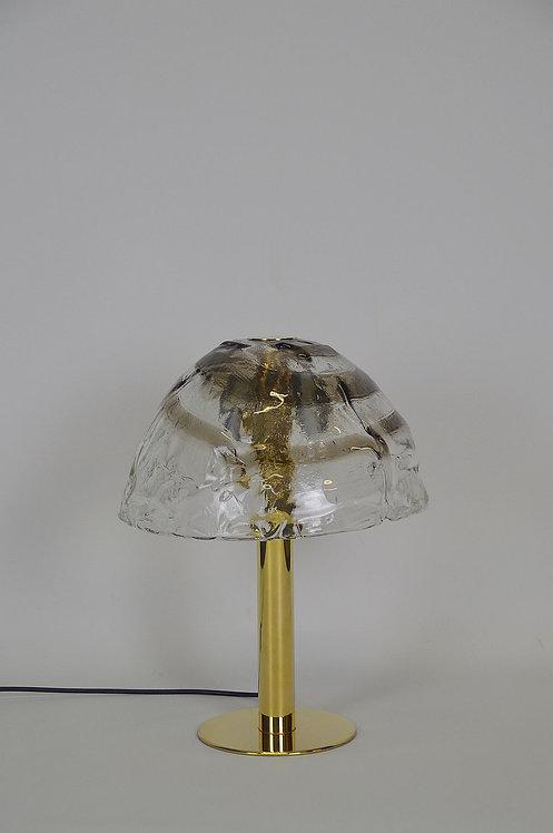 Tafellamp 'Dom' met Murano glas ontworpen door J.T. Kalmar, jaren '70