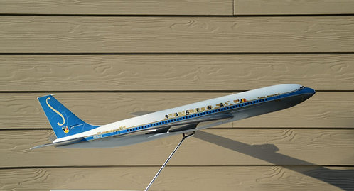 Sabena Boeing 707 schaalmodel 1/50 van Belplast, jaren '60