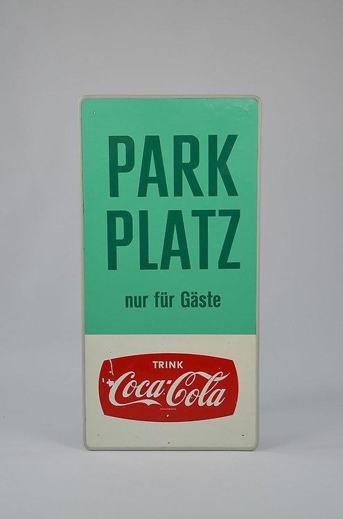 Duits reclamebord van Coca-Cola, jaren '50