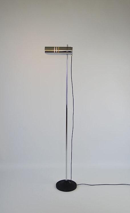 Mid century vloerlamp in chrome
