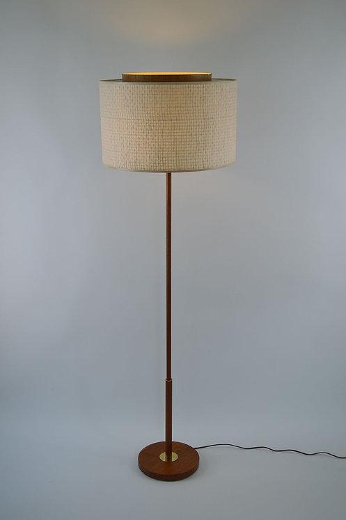 Zweedse vloerlamp met 3 lichtpunten, jaren '60