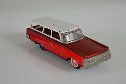 Blikken wagen met leuk interieur, eind jaren '60