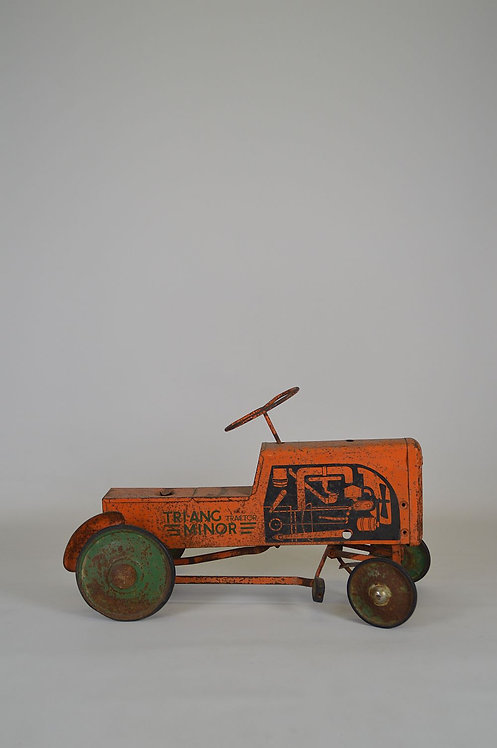 Tri-ang minor tractor trapauto, jaren '50