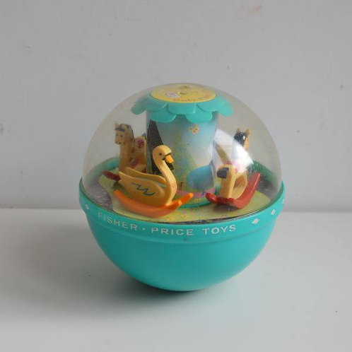 Roly Poly Chime Ball van Fisher Price uit 1972