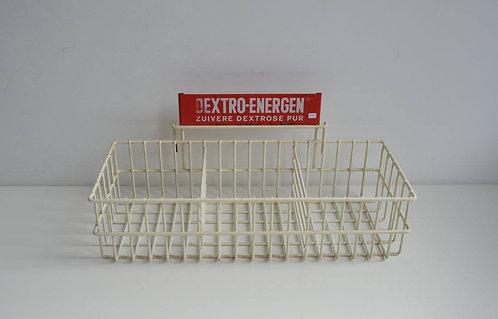 Hangrek met reclame 'Dextro-Energen'