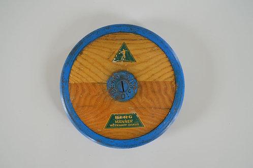 Decoratieve discus schijf van het Duitse merk 'Berg' uit de jaren '50