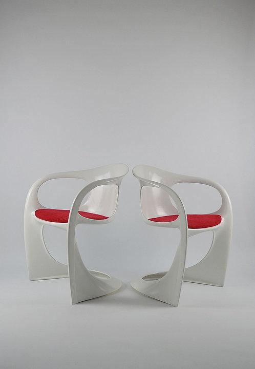 Set van 2 'Casalino' stoelen door Alexander Begge voor Casala, jaren '70