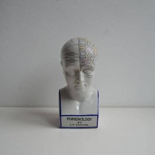 Keramische frenologie buste, Fowler