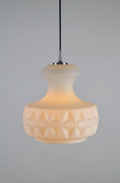 Peill & Putzler plafondlamp met geometrische vormen, jaren '70