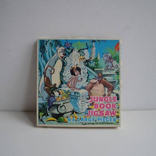 Prachtige puzzel van Jungle Book uit de jaren '60