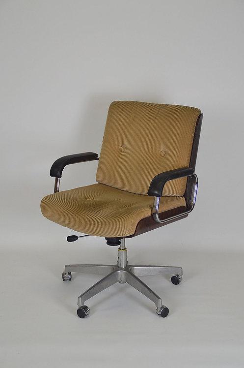 Prachtige swivel stoel van Gyroflex, jaren '60
