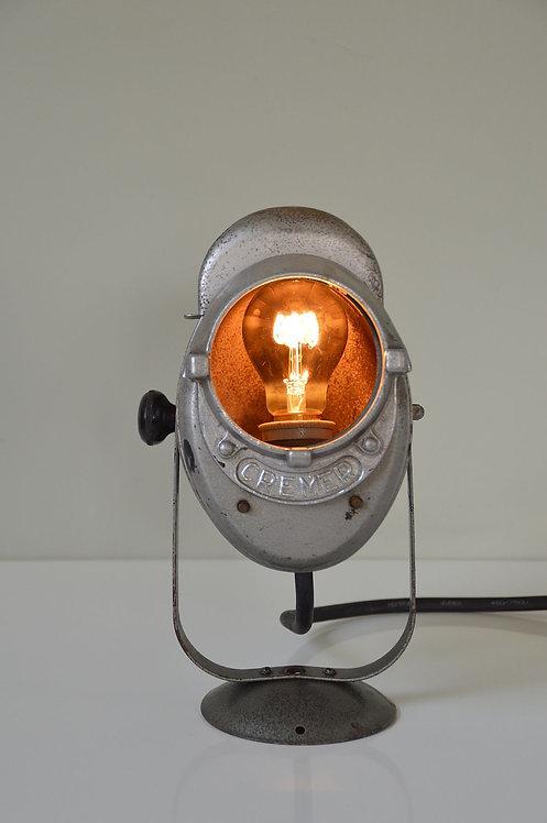 Industriële A.E. Cremer theaterspot, zeldzamer klein model, jaren '50