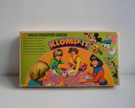 Disney Klomp-It spel van View-Master,1972
