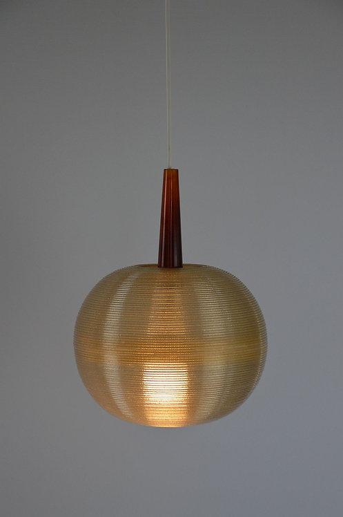Zeldzame Rotaflex hanglamp uit de jaren '50