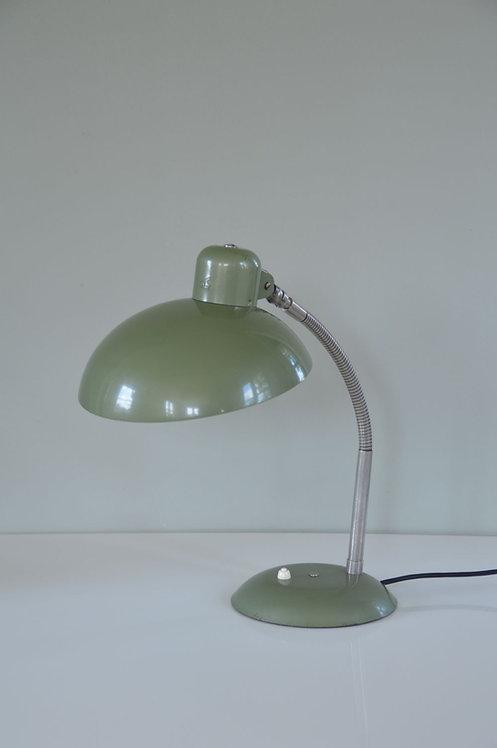 Industriële vintage Bauhaus bureaulamp van SIS, jaren '50