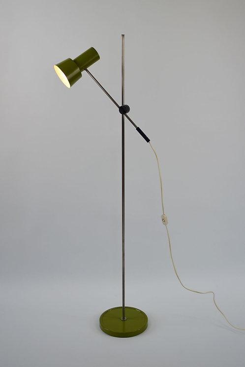 Tijdloze vintage vloerlamp met verstelbaar lichtpunt