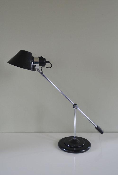 Vintage bureaulamp uit de jaren '80 van Aluminor (Frankrijk)