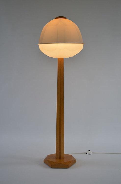 Zeldzame antroposofische vloerlamp van Rudolf Dörfler, jaren '60
