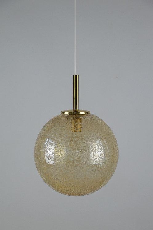 Design hanglamp van Doria Leuchten, jaren '70