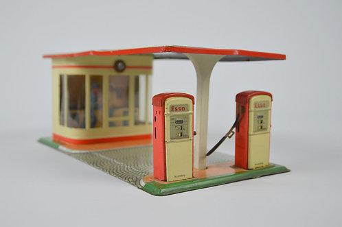 Antieke blikken Esso garage van Arnold, jaren '50