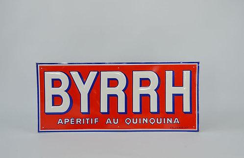 Reclamebord in reliëf voor Byrrh aperitief, 1956