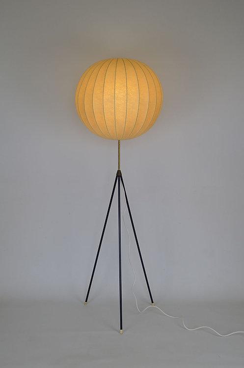 Mid-century tripod Cocoon vloerlamp van Arco Leuchten, jaren '70