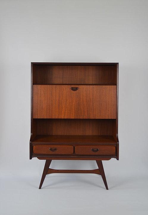 Vintage secretaire van Louis van Teeffelen voor Wébé, jaren '60