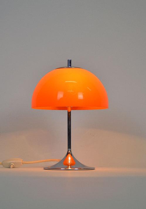 Mid century mushroom bureaulamp van Wila, jaren '70