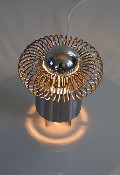 Stijlvolle design lamp met prachtig sfeerlicht, jaren '70