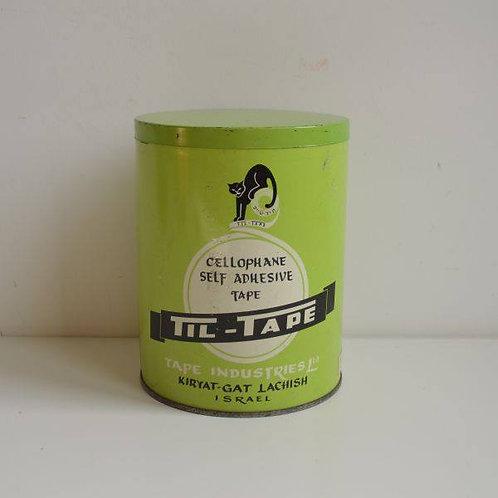 Zeldzaam blik van Til-Tape (Israël), jaren '60