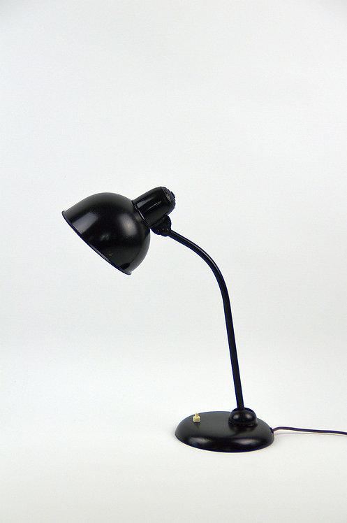 Bauhaus bureaulamp ontworpen door Christian Dell, jaren '30