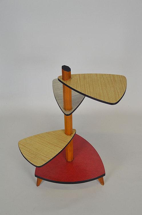 Vintage plantentafel met formica bovenblad, jaren '60