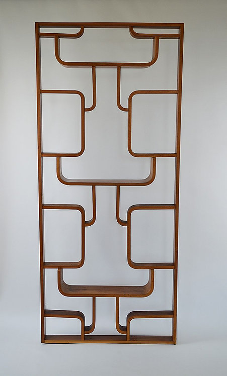 Midcentury room divider ontworpen door Volak voor Drevopodnik Holesov
