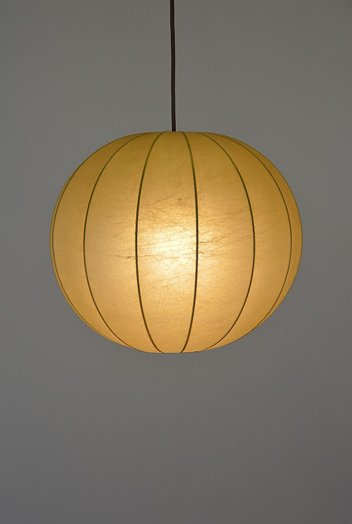 Vintage cocoon hanglamp van Goldkant Leuchten, jaren '60