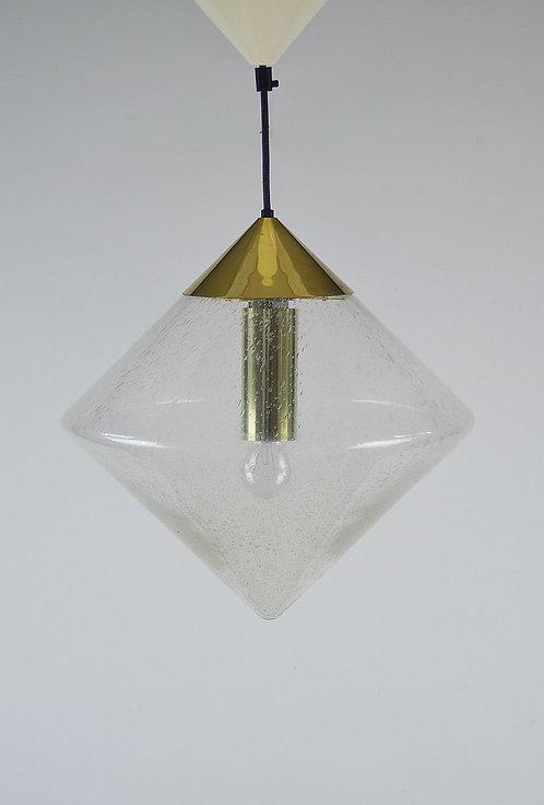 Zeldzame diamantvormige hanglamp van RAAK, jaren '70