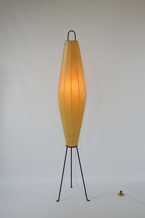 Vintage fifties vloerlamp 'Lugano' ontworpen door H. Klingele voor Artimeta