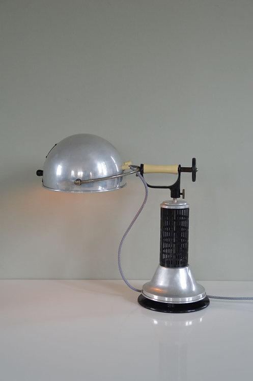 Art Deco tafellamp uit de jaren '20 van het merk Hanau Heraeus.