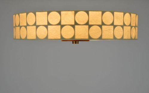 Mid-century plafondlamp van Goldkant Leuchten, jaren '70