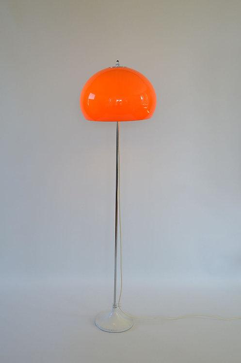 Verstelbare 'mushroom' vloerlamp van Gepo (Amsterdam), jaren '60