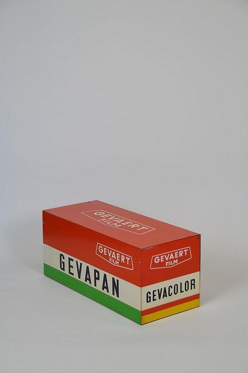 Metalen reclame object voor Gevaert Film, jaren '60