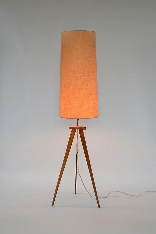 Scandinavische tripod vloerlamp uit de jaren '60
