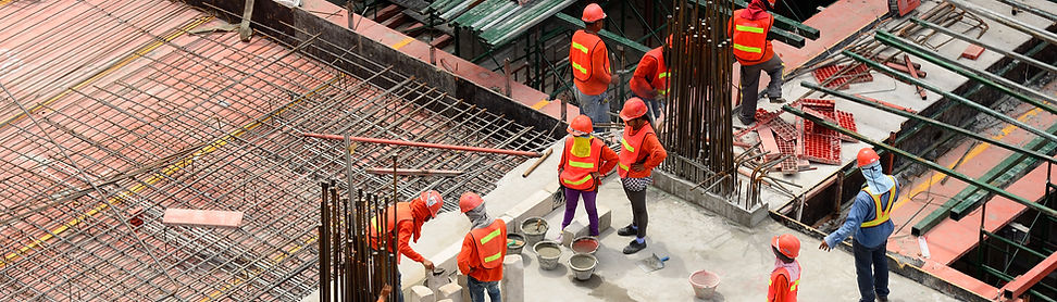 trabajadores de la construcción