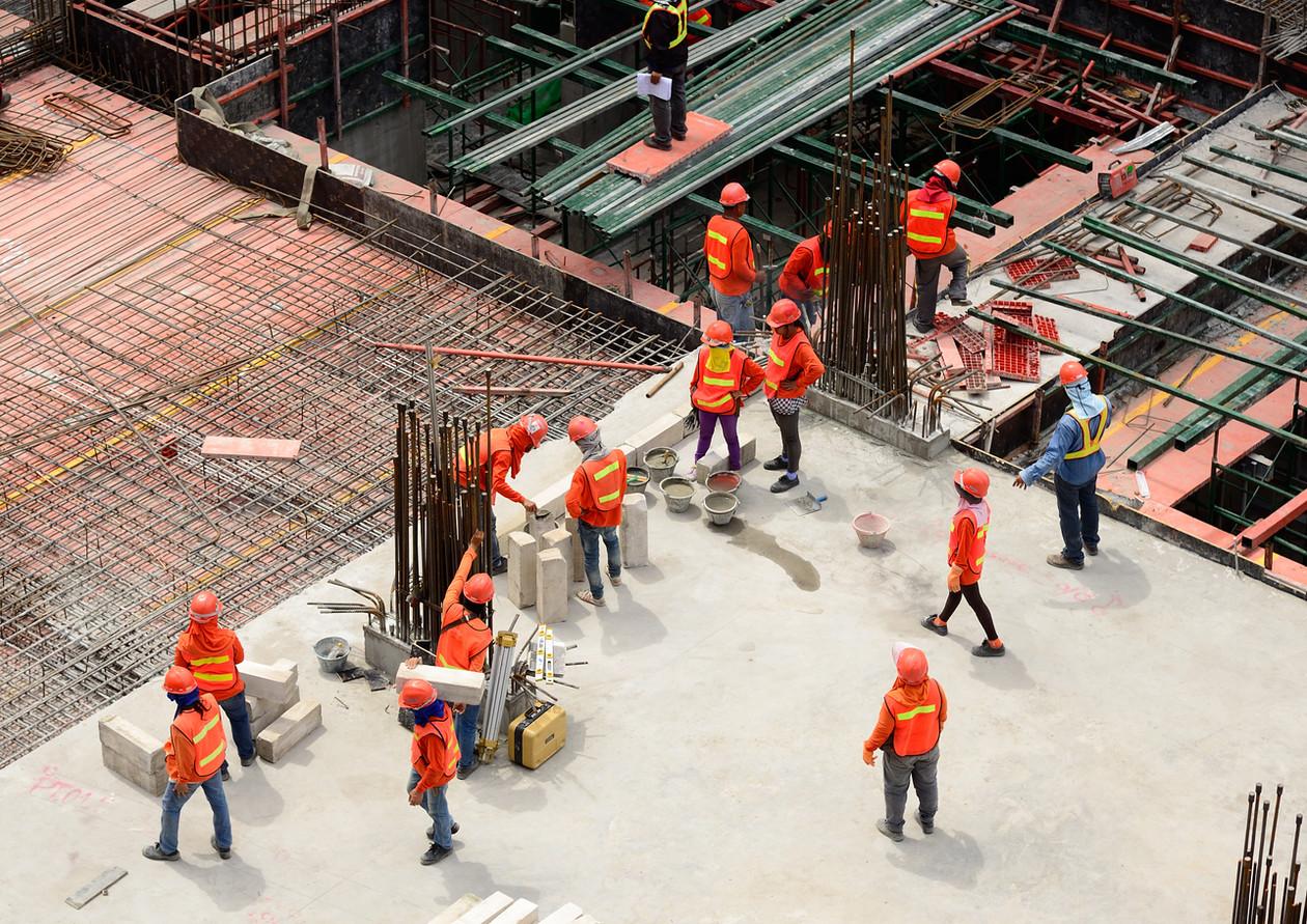 Hotel - Steel Fixers, Concrete, Electrician, Plumbers