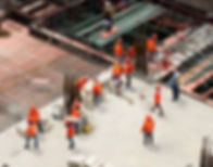 trabalhadores da construção
