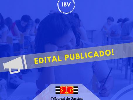 TJ SP 2018 - Edital Publicado