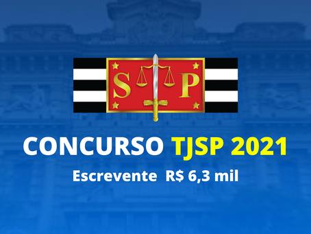 Concurso Escrevente TJSP 2021