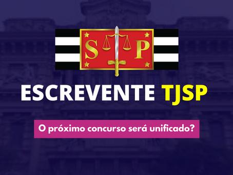 Escrevente TJSP: próximo concurso poderá ser unificado!