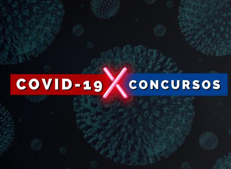 Coronavirus  X  Concursos Públicos