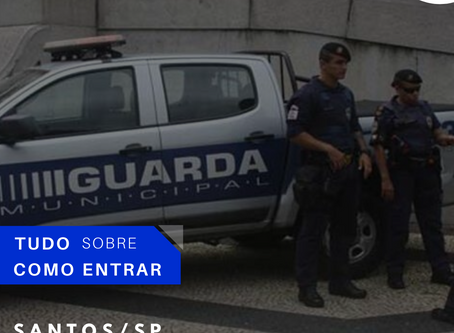 Concurso Guarda Municipal de Santos